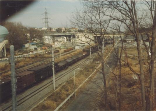 日野停車場付近 1978