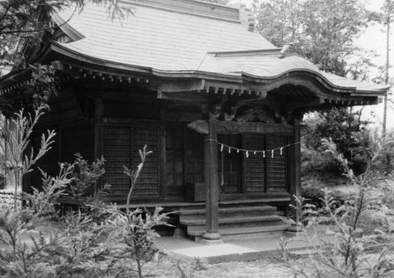 東光寺の神明社 1965頃