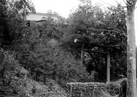 東光寺の神明社 1965頃(2)