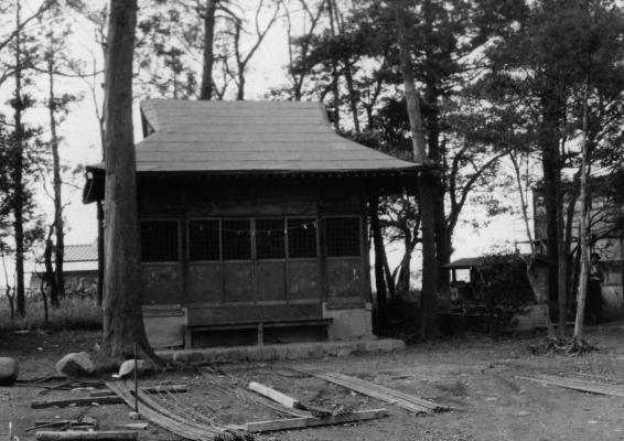 日野宮神社 1965頃