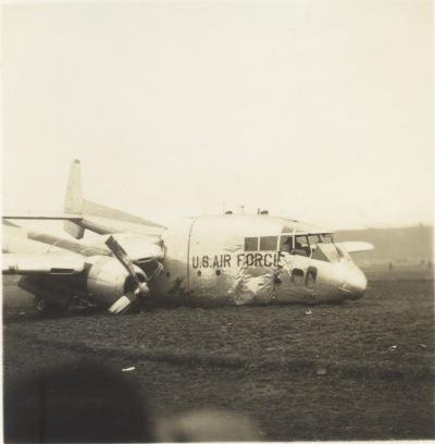 米軍機墜落 1956(3)