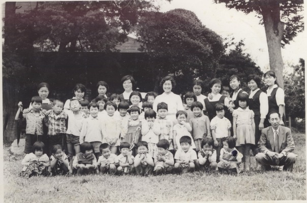 安養寺の保育所 1961