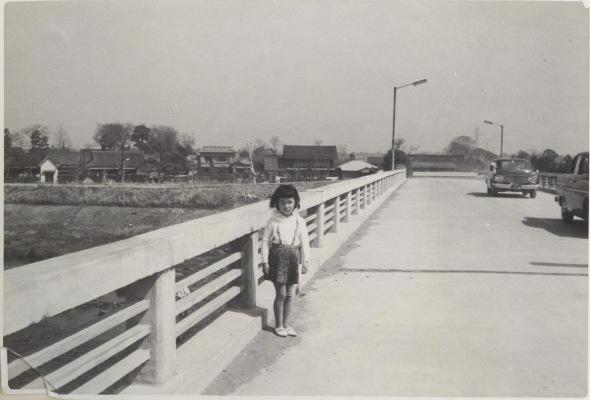 新井橋 ‐ 少女 1960年代初頭