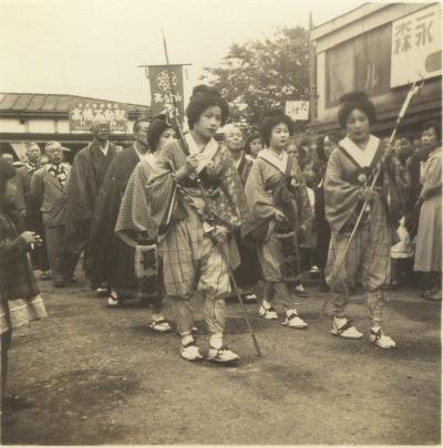 てこまい 1955(3)高幡不動駅前