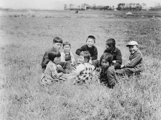 田園の子どもたち 1953頃