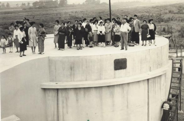 日野町衛生処理場見学会 1959?(2)