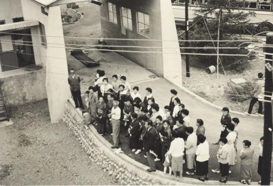 日野町衛生処理場見学会 1959?(3)