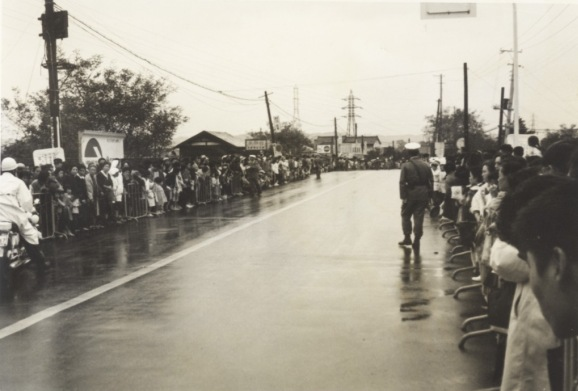 東京オリンピック 自転車競技 1964(6)日野橋南詰手前