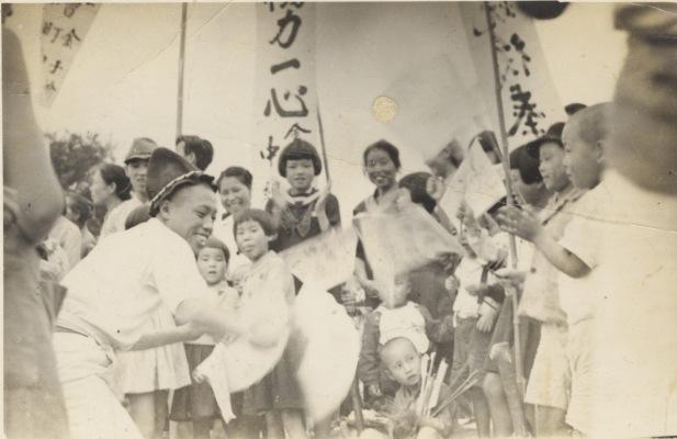 町民運動会 ‐ 金子橋 昭和10年代