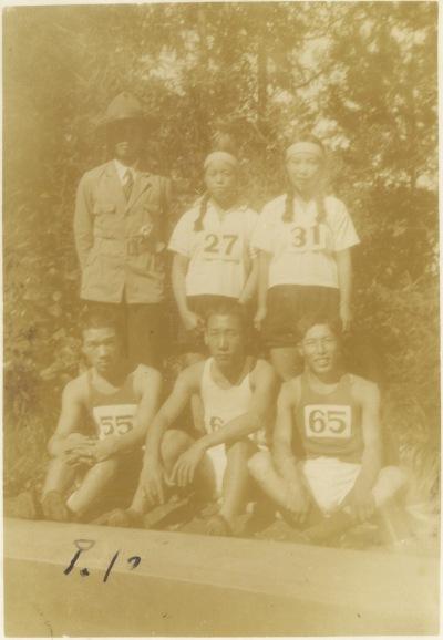 日野町青年運動選手 1934