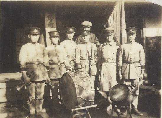 加組の楽隊 1936頃