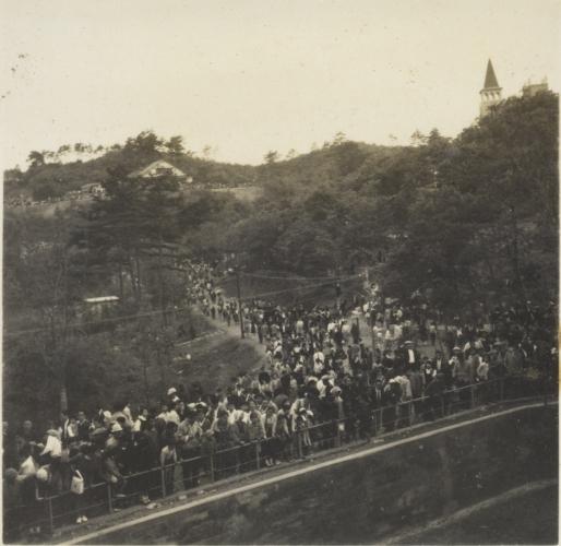 多摩動物公園 開園の日 1958