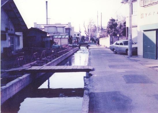 日野用水 1980 ‐ 大昌寺北側 ‐ 下水管埋設工事(2)