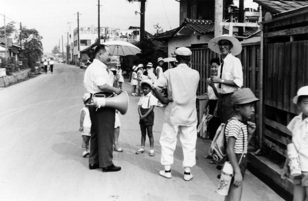 子ども会夏休み行事 1965前後 - 西町