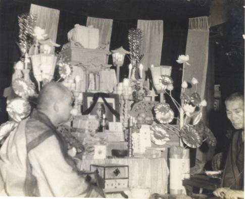 葬儀 1942 ‐ 馬場謹治氏 ‐ 馬場家