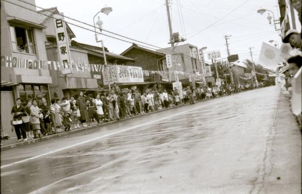 東京オリンピック 聖火リレー 1964(11)仲町