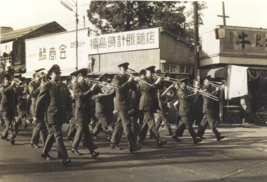 東京オリンピック 1964 ‐ 米軍ブラスバンド