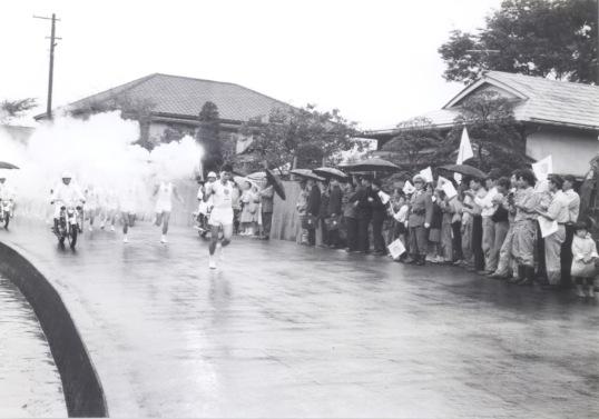 東京オリンピック 聖火リレー 1964(18)七和精機脇