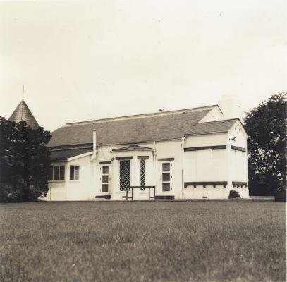 別荘 ‐ 現矢の山公園付近 昭和30年代初頭