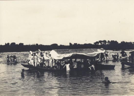 多摩川ノ鮎狩 1914(2)