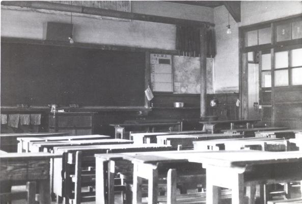一小本校舎 ‐ 教室 昭和40年前後