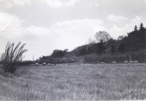 大昌寺坂遠景 昭和30年代