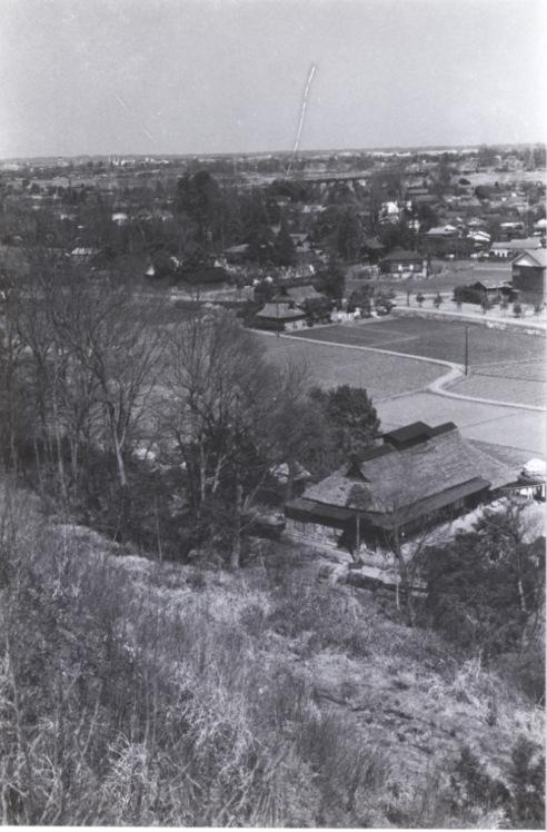 大昌寺山から大昌寺方面 1960