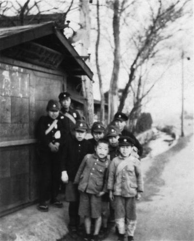 仲井のポンプ小屋 昭和10年代中頃
