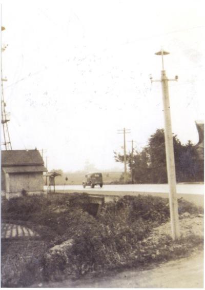 下河原の消防小屋 1946頃