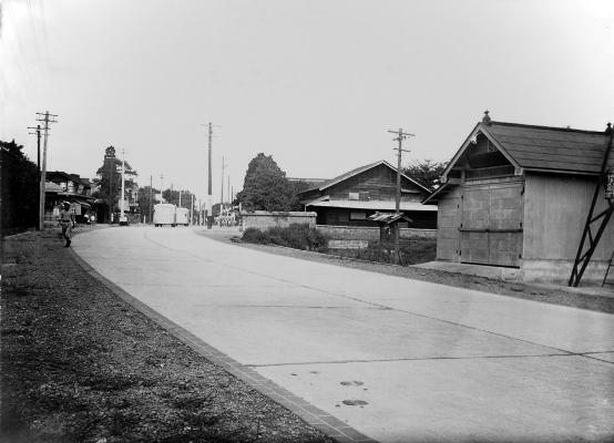 下河原の消防小屋 1927頃
