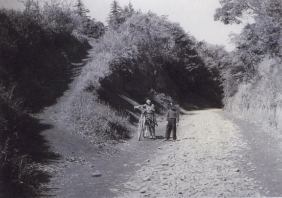 大昌寺坂 1957 - 子どもたち