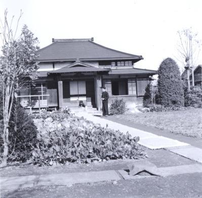 井上春三宅 昭和30年代初頭 ‐ 森町 ‐