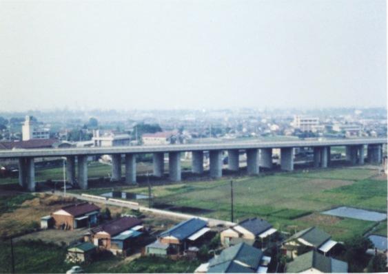 百段階段から東方面 1967