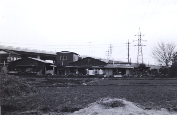 大貫木工所遠望 1970 ‐ 西側