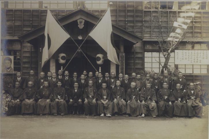 御大典御嘉例による養老杯拝受高齢者写真 1929