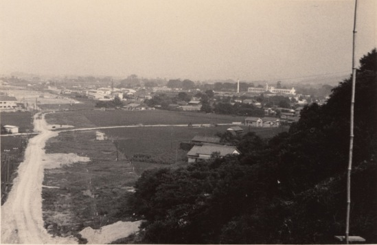 中央自動車道建設中 昭和40年前後