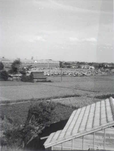 町民運動会 1952 ‐ 大昌寺坂より