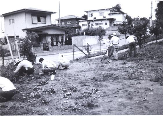 谷仲山地区センター清掃活動