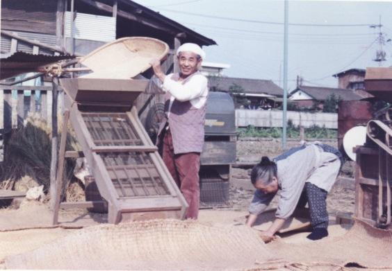 農作業 ‐ とうみ 1970
