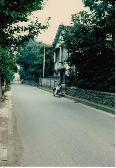 旧岩澤泰宏宅前道路 1968頃(4)