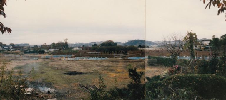 旧岩澤宅から南西方向