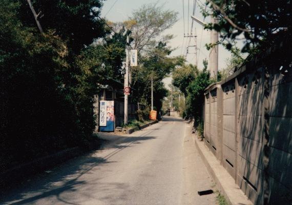 旧岩澤泰宏宅前道路 1968頃(5)