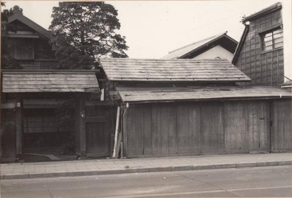 須藤金物店新築前 1964