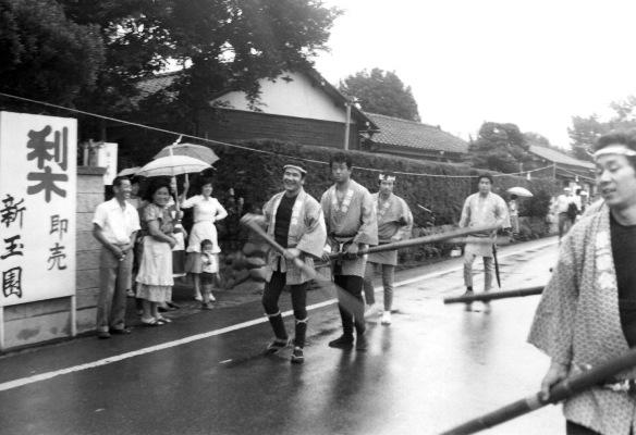 ささら流し ‐ 新玉園前 ‐ 第一睦会 昭和40年代初頭
