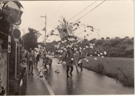 ささら流し ‐ 万灯 ‐ 第一睦会 昭和40年代初頭