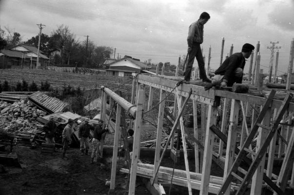 旧土方安蔵宅新築工事 1964