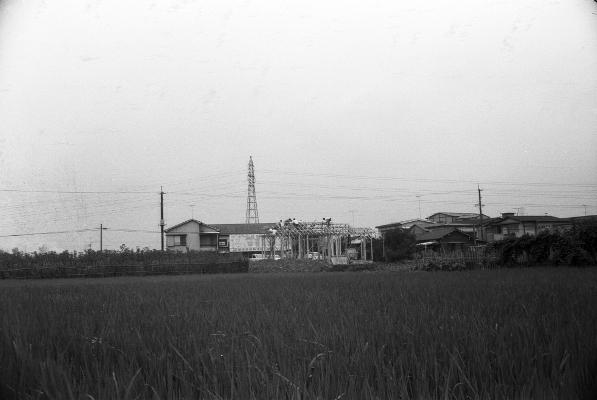 旧土方安蔵宅新築工事 1964(3)