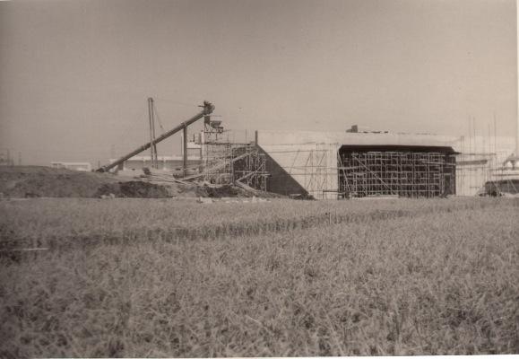 中央自動車道建設中(2)昭和30年代後半
