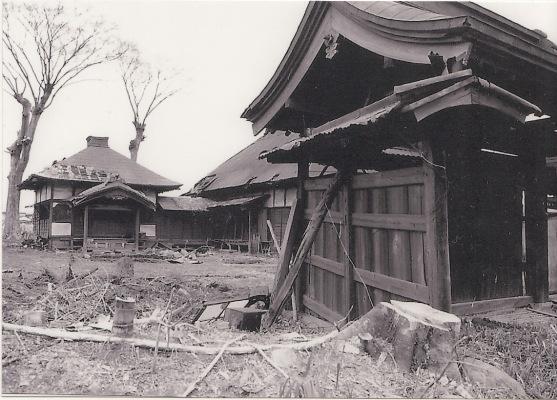 解体前の薬王寺 1988