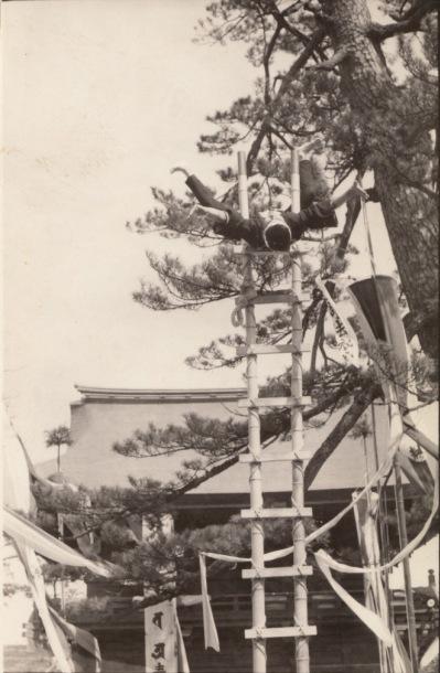 高幡不動尊 - はしご(2)